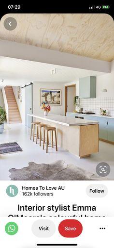 Interior Stylist, Kitchens, Loft, Bed, Furniture, Home Decor, Decoration Home, Stream Bed, Room Decor
