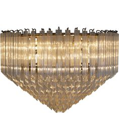 Vintage Murano Glass Chandelier | From a unique collection of antique and modern chandeliers and pendants  at https://www.1stdibs.com/furniture/lighting/chandeliers-pendant-lights/