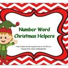 Practice Number Words with these Christmas themed activity pages. It is actually a sample of the type of activities you will find in my Sight Word ...