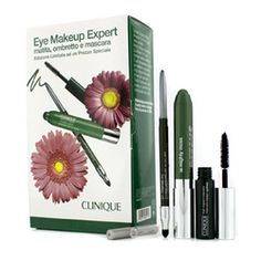 Eye Makeup Expert (1x Quickliner, 1x Chubby Stick Shadow, 1x High Impact Mascara) - Green 3pcs