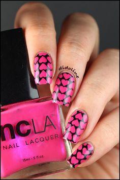 Didoline's Nails valentine #nail #nails #nailart