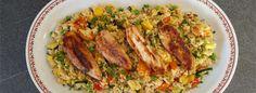 Von Carmine Stillitano | Hühnchenbrustfilet mal zur Abwechslung nicht mit trockenem Reis? Klar, kein Problem: Dieses Hühnchen mit Couscous wird...
