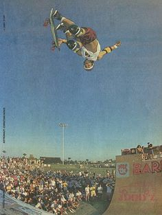 I remember being 5 years old and tripping on this photo whilst staring in awe. 25 years later....still tripping...still staring in awe. Christian Hosoi=born to skate.