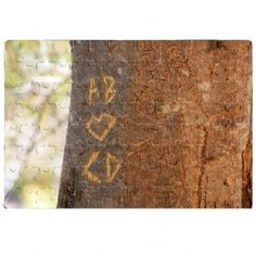Personalised Tree Carving Jigsaw Small, a great gift for couples to enjoy together this Valentines day | Keepsake Kreations
