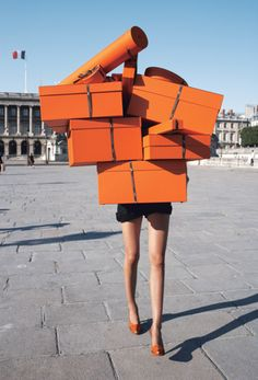 I wish I could have this many Hermes boxes ;-)