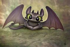 Uploaded by Find images and videos about cute, dragon and toothless on We Heart It - the app to get lost in what you love. Baby Toothless, Toothless And Stitch, Toothless Dragon, Toothless Tattoo, How To Train Your, How Train Your Dragon, Disney Drawings, Cute Drawings, Chibi