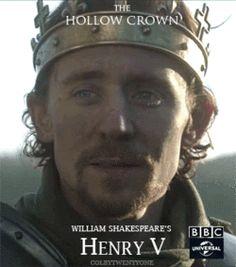 Tom Hiddleston as Henry V in The Hollow Crown gif Tom Hiddleston Benedict Cumberbatch, Tom Hiddleston Loki, Shakespeare History, The Hollow Crown, Thomas Sharpe, Richard Ii, Richard Madden, Thomas William Hiddleston, Scott Fitzgerald