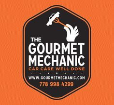 Brand Identity Design for The Gourmet Mechanic, a new local auto mechanic's shop. By Tunaheart.