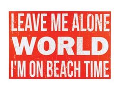 Another great find on 'Beach Time' Canvas Beachy Quotes, Beachy Signs, I Love The Beach, Canvas Signs, Making Waves, Enjoying The Sun, Beach Art, My Happy Place, Great Quotes