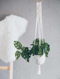 Macrame Wall Hanging Diy, Macrame Plant Hangers, Macrame Patterns, Flower Patterns, Pattern Flower, Flower Lights, Hanging Plants, Indoor Plants, Plant Holders