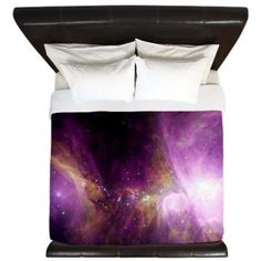 Spitzer's Orion King Duvet by NebulaNut - CafePress King Duvet, Bedding Collections, Bed Spreads, Astronomy, Color Combinations, Duvet Covers, Live, Bedroom, Luxury