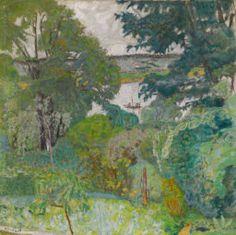 Pierre Bonnard French, 1867–1947, The Seine at Vernonnet 1939 Chicago Institute of Art