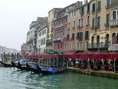On Venice's Grand Canal