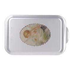 Angel Child Cake Pan http://www.zazzle.com/angel_child_cake_pan-256766359726852655?rf=238271513374472230  #christmas  #christmasdécor