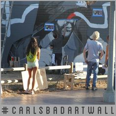 If you haven't checked out the new mural by @devinliston then what are you waiting for!  Tag & Hashtag to win! Like this!  @senorgrubbys @devinliston @snyderart #CarlsbadArtWall #SnyderArt #DevinListon #SenorGrubbys = you could WIN!  #Mural #Art #Graffiti #Carlsbad #CarlsbadCA by senorgrubbys
