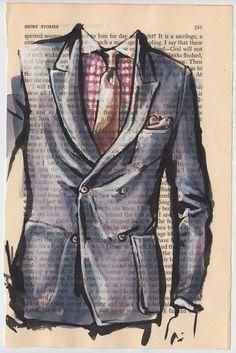 Картинки для мужских работ, пиджак