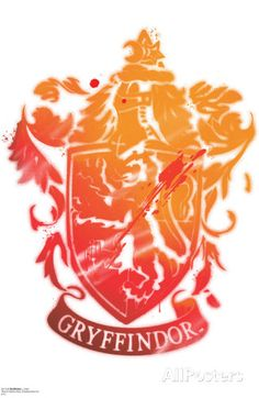Gryffindor Crest - Harry Potter and the Deathly Hallows Wall Decal at AllPosters.com ($39.99)