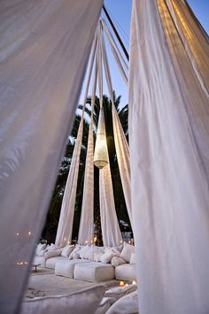 creative event design, decor and tenting from Gypset in LA | via junebugweddings.com