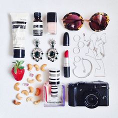 Regram from @official_swarovski, coordinated by ... Can you guess who? Of course, this goregeous #flatlay is by @margaret__zhang.