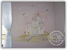 Princess Mural,Murals,Kids Mural,Children's Wall Mural,Nursery Murals,Murals for Kids, Miami / Fort Lauderdale,West Palm Beach