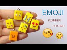 [Stop Motion] Emoji planners Tutorial / Tutoriel Fimo Agenda Emojis - YouTube Polymer clay - Pate polymere