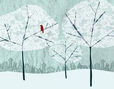 winter illustration - Pesquisa Google