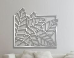 Image result for abstract laser cut wall art
