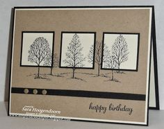 Simply Sara Stampin': Lovely As a Tree