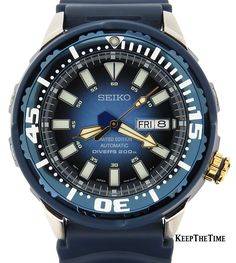 Seiko SRP453 Superior Blue Tuna Can Limited Edition 200m Diver
