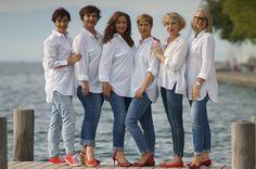 Ein Kleidungsstück, welches in keinem Schrank fehlen sollte, ist die weiße Bluse. Besonders die klassische Variante ist immer der perfekte ...