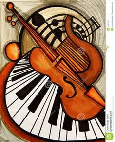 notas musicales abstracto