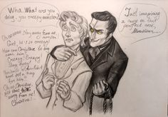 Erik is being a proper creepy Opera Ghost and Raoul is not liking it