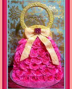 Rose Handbag - cake!
