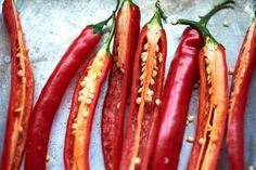 Houdt u ook van pittig? Goed nieuws! Rode peper helpt de suikerwaarde in het bloed weer op een normaal peil te brengen en is daarmee ook gezond voor mensen met diabetes. Verder is het goed voor onze hart en bloedvaten en bevat een rode peper veel vitamine C en diverse antioxidanten. Des te meer reden om de Thaise groene curry van Paradijsvogel Marjo eens te proberen!