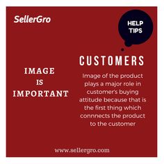 When it comes to your customers ,sellergro is always available to help so register at www.sellergro.com/register now because when its about customers the option is always sellergro
