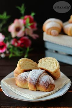 Bread Recipes, Cooking Recipes, Brioche Recipe, Good Food, Yummy Food, Pan Dulce, Bread And Pastries, Dessert Bread, Homemade Pasta