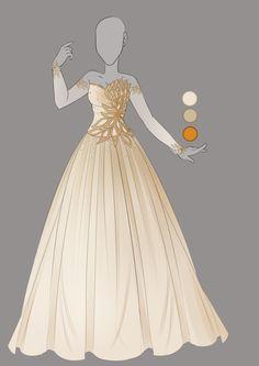 :: September Commission 02: Outfit design :: by VioletKy on DeviantArt