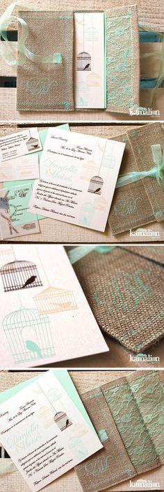 www.kamalion.com.mx ... invitation, invitación, boda, wedding, vintage, invitaciones.