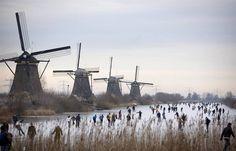 Nieuw Lekkerland -Kinderdijk.