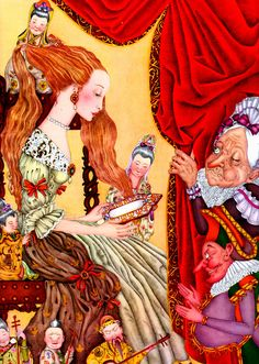 çizgili masallar: Adrienne Segur, The Fairy Tale Book