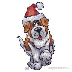 St. Bernard Christmas
