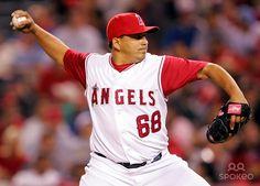 Alex Serrano Anaheim Angels