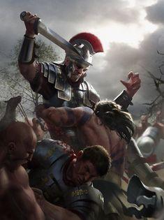 Batalla de Teutoburgo: emboscada …