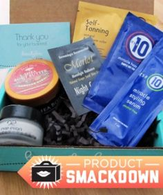 Product Smackdown: Subscription Beauty Boxes