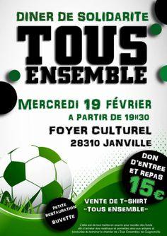 Dîner de solidarité « Tous Ensemble », Janville (28310), Centre