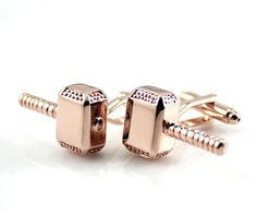 Thor cufflinks Mens Cufflinks- Fashion Cufflinks, Hammer cufflinks