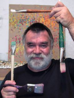 Chuck Baird (February 22, 1947 – February 10, 2012) was an American deaf artist who was one of the more notable founders of the De'VIA art movement, an aesthtic of Deaf Culture in which visual art conveys a deaf worldview. His career spanned over 35 years and included painting, sculpture, acting, storytelling, and teaching.