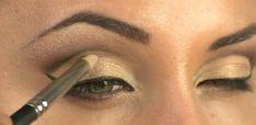 Make - cut crease for hooded eyes 2
