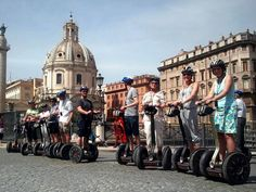 Segway Rome tours in the evening are simply divine.