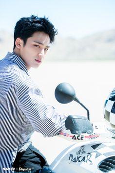'Al1' Photoshoot BTS  #Mingyu    © dispatch.co.kr